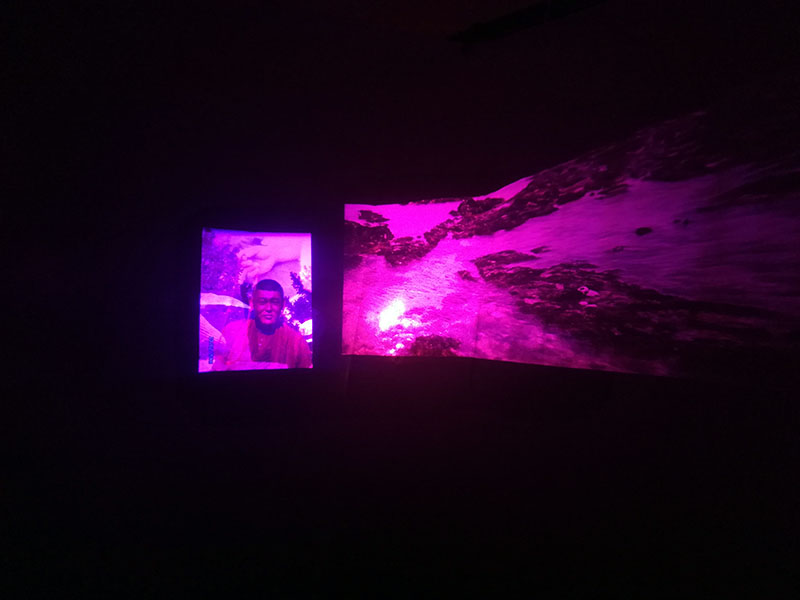 Everything is forever now, Jay Rechsteiner, video installation