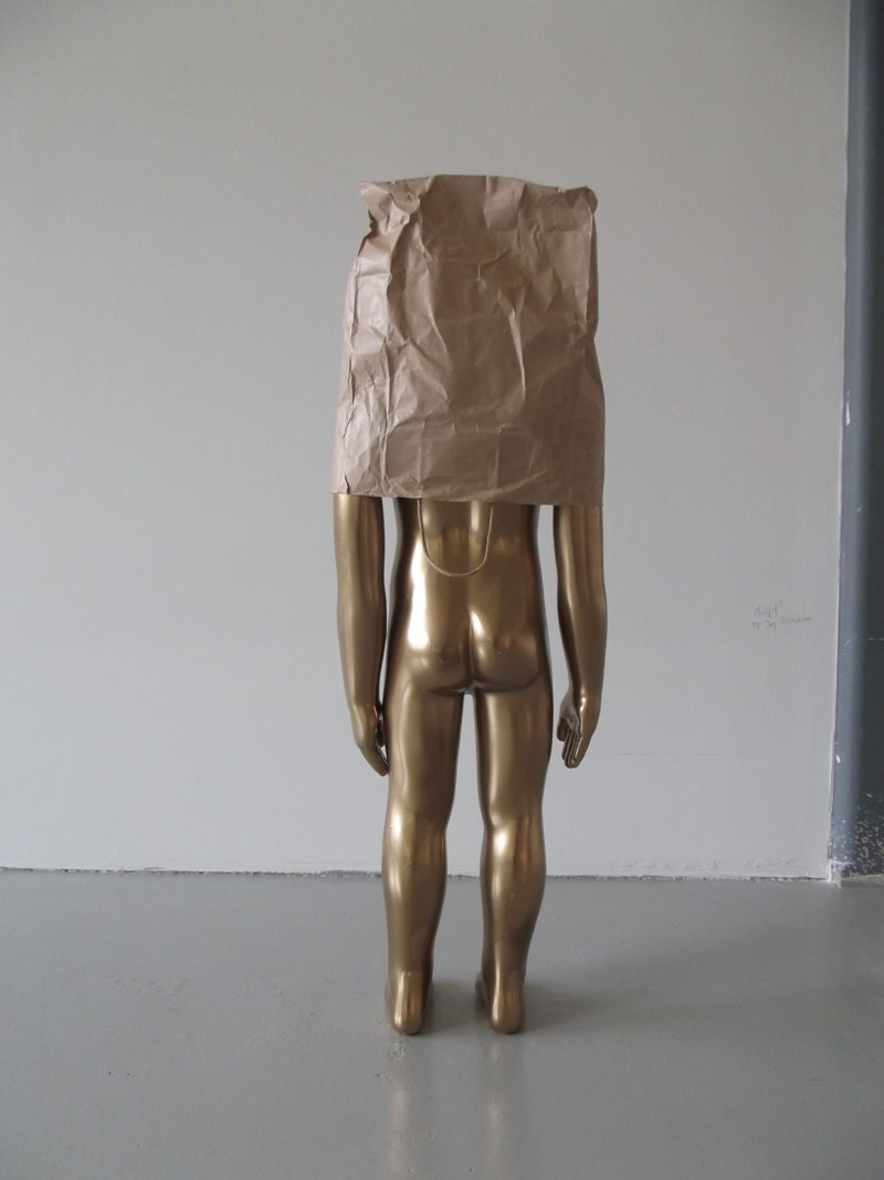 Golden Boy by Jay Rechsteiner, Markthalle Basel, Switzerland